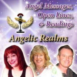 Angelic Realms Radio Log with Hosts' Photos