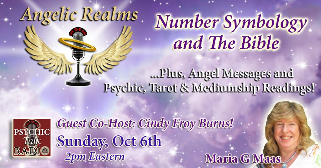 Angelic Realms Radio Show Page Banner